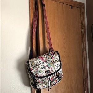 Sakroots shoulder/backpack purse